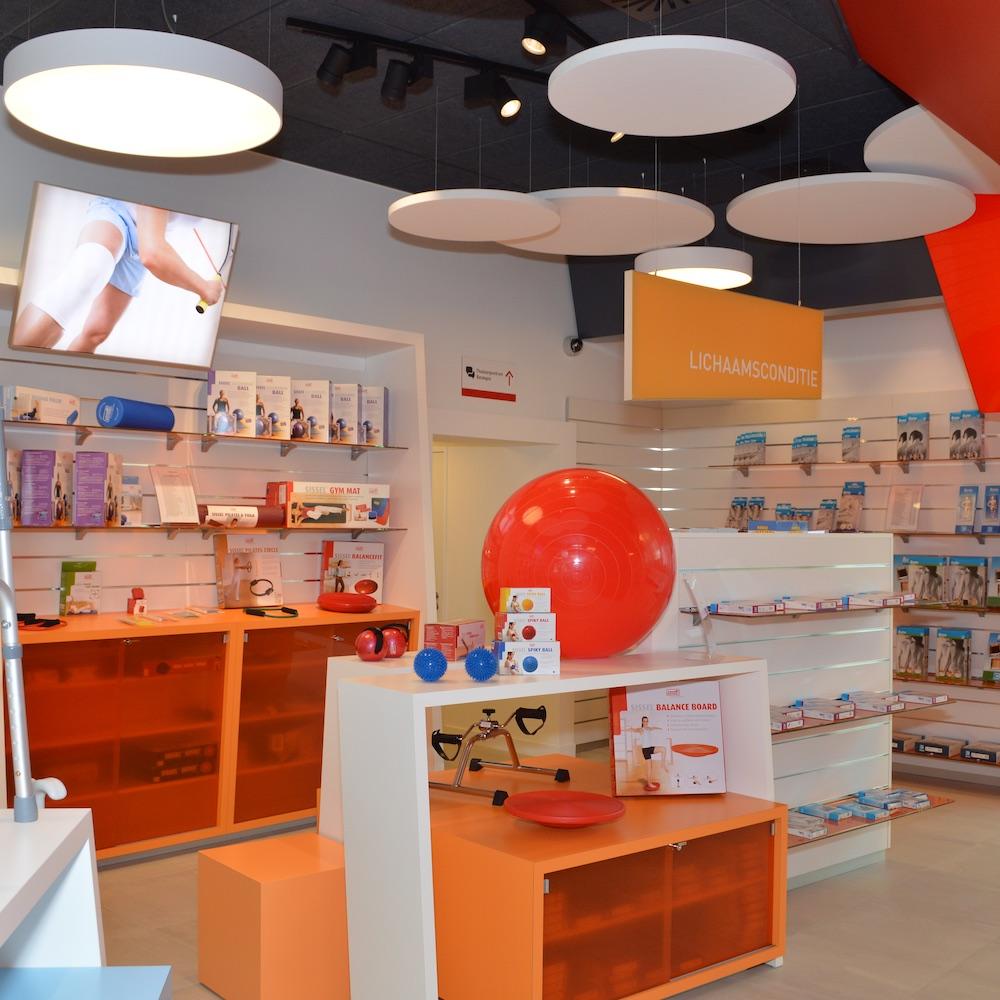 Medishop - Binnenin de winkel