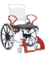 Chaise de douche/toilette GENF à roues
